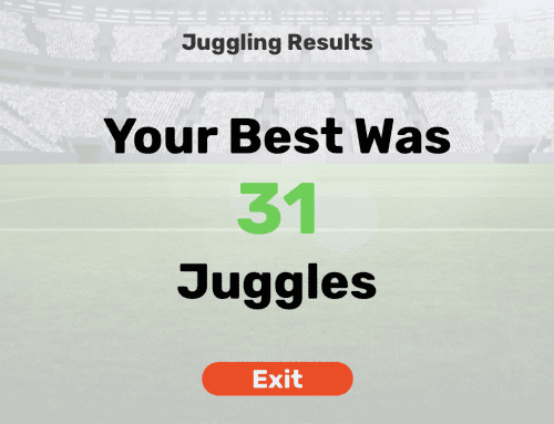 Dribble Up Soccer Juggling App